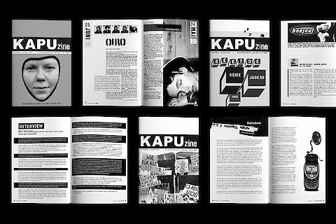 KAPU, KAPUzine (with Judith Holzer) — Editorial Design