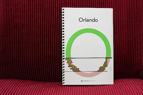 Bueronardin, Orlando (Theater Bielefeld) — Editorial Design