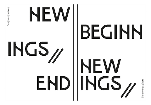 Sarajevo 100, Christof Nardin, New Beginnings – New Endings — Poster
